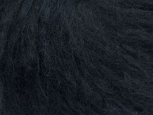 Fiber Content 45% Acrylic, 25% Wool, 20% Mohair, 10% Polyamide, Brand Ice Yarns, Dark Navy, fnt2-70409