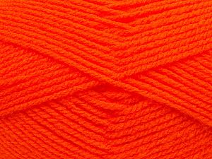 Worsted Vezelgehalte 100% Acryl, Orange, Brand Ice Yarns, fnt2-70661