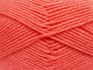 Worsted Vezelgehalte 100% Acryl, Salmon, Brand Ice Yarns, fnt2-70662
