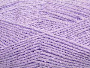 Fiber Content 50% Acrylic, 50% Polyamide, Light Lilac, Brand Ice Yarns, fnt2-70793