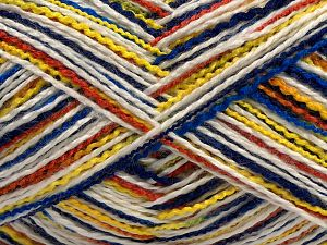 Fiber Content 100% Acrylic, White, Brand Ice Yarns, Green Shades, Copper, Blue Shades, fnt2-70872