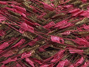 Trellis Fiber Content 100% Polyester, Pink, Light Brown, Brand Ice Yarns, fnt2-70901
