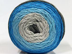 Fiber Content 100% Cotton, Brand Ice Yarns, Grey Shades, Blue Shades, fnt2-70922
