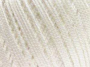 Fiber Content 70% Polyester, 30% Nylon, White, Brand Ice Yarns, fnt2-70943