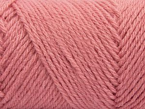 Items made with this yarn are machine washable & dryable. Fiber Content 100% Acrylic, Brand Ice Yarns, Candy Pink, fnt2-71050