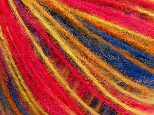 Fiber Content 85% Acrylic, 15% Polyamide, Yellow, Pink, Brand Ice Yarns, Gold, Blue, fnt2-71094
