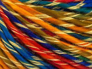 Fiber Content 100% Acrylic, Rainbow, Brand Ice Yarns, fnt2-71100