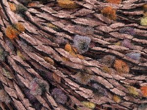 Fiber Content 75% Acrylic, 25% Polyester, Lilac Shades, Brand Ice Yarns, Green, Copper, Black, fnt2-71139