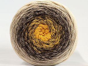 Please be advised that yarns are made of recycled cotton, and dye lot differences occur. Fiber Content 100% Cotton, Yellow, Brand Ice Yarns, Cream, Camel, Beige, fnt2-71147