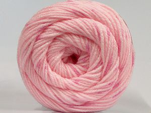 Fiber Content 80% Acrylic, 20% Wool, Pink, Brand Ice Yarns, fnt2-71156