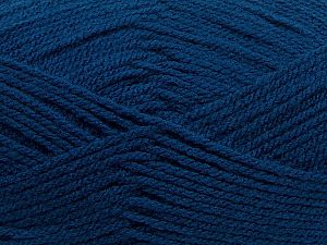 Worsted Vezelgehalte 100% Acryl, Navy, Brand Ice Yarns, fnt2-71164
