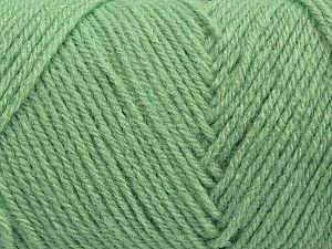 Items made with this yarn are machine washable & dryable. Fiber Content 100% Acrylic, Mint Green, Brand Ice Yarns, fnt2-71185