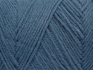 Items made with this yarn are machine washable & dryable. Fiber Content 100% Acrylic, Jeans Blue, Brand Ice Yarns, fnt2-71186