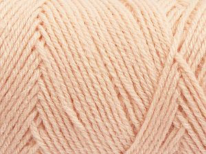 Items made with this yarn are machine washable & dryable. Fiber Content 100% Acrylic, Light Salmon, Brand Ice Yarns, fnt2-71191