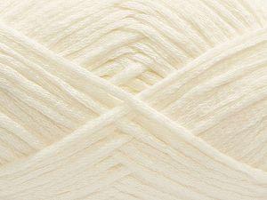 Fiber Content 75% Cotton, 25% Nylon, White, Brand Ice Yarns, fnt2-71214
