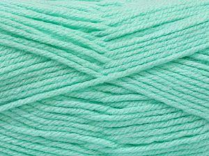 Fiber Content 100% Acrylic, Mint Green, Brand Ice Yarns, fnt2-71549