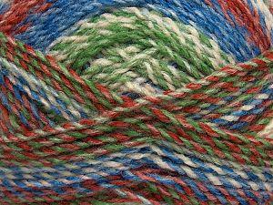 Fiber Content 100% Acrylic, White, Brand Ice Yarns, Green, Copper, Blue, fnt2-71638