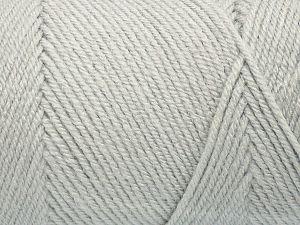 Fiber Content 100% Acrylic, Light Grey, Brand Ice Yarns, fnt2-71679