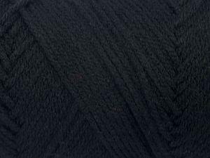 Fiber Content 100% Acrylic, Brand Ice Yarns, Black, fnt2-71681