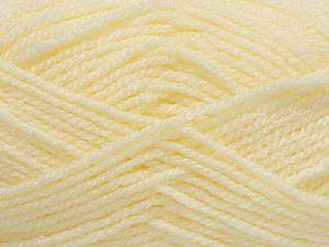 Fiber Content 100% Acrylic, Light Yellow, Brand Ice Yarns, fnt2-71694