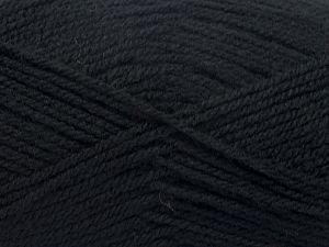 Fiber Content 100% Acrylic, Brand Ice Yarns, Black, fnt2-71705