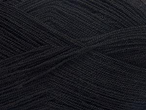 Fiber Content 100% Acrylic, Brand Ice Yarns, Black, fnt2-71711