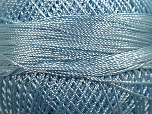 Fiber Content 100% Micro Fiber, Brand YarnArt, Light Blue, Yarn Thickness 0 Lace  Fingering Crochet Thread, fnt2-17320