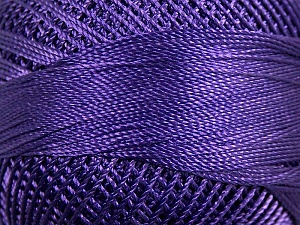 Fiber Content 100% Micro Fiber, Brand YarnArt, Purple, Yarn Thickness 0 Lace  Fingering Crochet Thread, fnt2-17327
