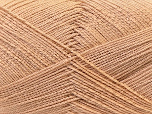 Fiber Content 60% Merino Wool, 40% Acrylic, Light Brown, Brand Ice Yarns, Yarn Thickness 2 Fine  Sport, Baby, fnt2-21091
