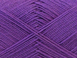 Fiber Content 60% Merino Wool, 40% Acrylic, Lavender, Brand Ice Yarns, Yarn Thickness 2 Fine  Sport, Baby, fnt2-21106