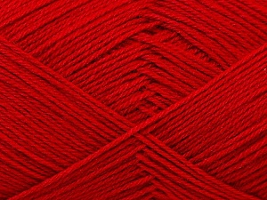 Fiber Content 60% Merino Wool, 40% Acrylic, Red, Brand Ice Yarns, Yarn Thickness 2 Fine  Sport, Baby, fnt2-21108