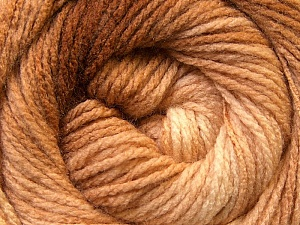 Fiber Content 100% Acrylic, Brand Ice Yarns, Brown Shades, Yarn Thickness 3 Light  DK, Light, Worsted, fnt2-22015