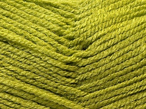 Fiber Content 100% Acrylic, Light Green, Brand Ice Yarns, Yarn Thickness 3 Light  DK, Light, Worsted, fnt2-22424