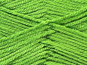 Fiber Content 100% Acrylic, Brand Ice Yarns, Green, Yarn Thickness 3 Light  DK, Light, Worsted, fnt2-22426