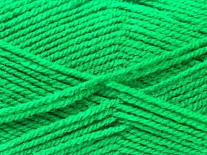 Fiber Content 100% Acrylic, Jungle Green, Brand Ice Yarns, Yarn Thickness 3 Light  DK, Light, Worsted, fnt2-22427