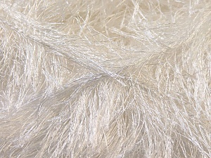 Fiber Content 100% Polyester, Brand Ice Yarns, Ecru, Yarn Thickness 5 Bulky  Chunky, Craft, Rug, fnt2-22700