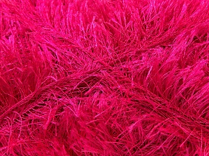 Fiber Content 100% Polyester, Brand Ice Yarns, Fuchsia, Yarn Thickness 5 Bulky Chunky, Craft, Rug, fnt2-22724