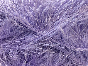 Fiber Content 100% Polyester, Light Lilac, Brand ICE, Yarn Thickness 5 Bulky  Chunky, Craft, Rug, fnt2-22727