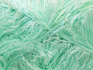 Fiber Content 100% Polyester, Mint Green, Brand ICE, Yarn Thickness 5 Bulky  Chunky, Craft, Rug, fnt2-22736