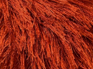 Fiber Content 100% Polyester, Brand Ice Yarns, Copper, Yarn Thickness 5 Bulky  Chunky, Craft, Rug, fnt2-22758