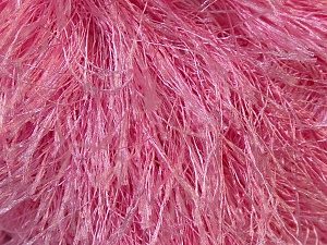 Fiber Content 100% Polyester, Light Pink, Brand Ice Yarns, Yarn Thickness 5 Bulky  Chunky, Craft, Rug, fnt2-22766