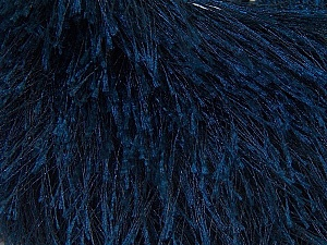 Fiber Content 100% Polyester, Navy, Brand Ice Yarns, Yarn Thickness 5 Bulky  Chunky, Craft, Rug, fnt2-22781