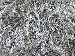 Fiber Content 100% Polyester, Brand Ice Yarns, Grey, Yarn Thickness 5 Bulky  Chunky, Craft, Rug, fnt2-22794