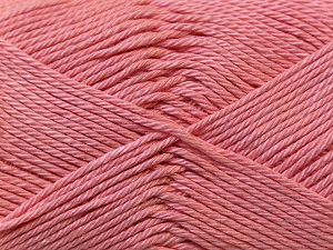 Fiber Content 100% Mercerised Cotton, Salmon, Brand Ice Yarns, Yarn Thickness 2 Fine  Sport, Baby, fnt2-23329