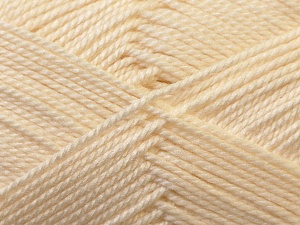 Fiber Content 100% Acrylic, Brand Ice Yarns, Cream, Yarn Thickness 2 Fine  Sport, Baby, fnt2-23580
