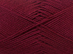 Fiber Content 100% Acrylic, Brand Ice Yarns, Burgundy, Yarn Thickness 2 Fine  Sport, Baby, fnt2-23598