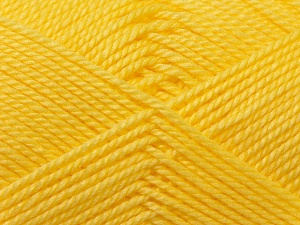 Fiber Content 100% Acrylic, Light Yellow, Brand Ice Yarns, Yarn Thickness 2 Fine  Sport, Baby, fnt2-23599