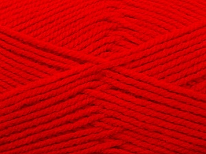 Fiber Content 100% Acrylic, Red, Brand ICE, Yarn Thickness 4 Medium Worsted, Afghan, Aran, fnt2-23727