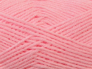 Worsted  Fiber Content 100% Acrylic, Pink, Brand Ice Yarns, Yarn Thickness 4 Medium  Worsted, Afghan, Aran, fnt2-23730