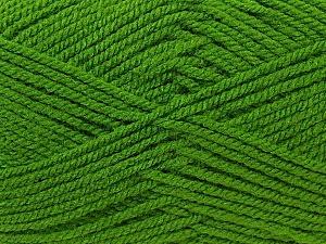 Worsted Fiber Content 100% Acrylic, Brand Ice Yarns, Green, Yarn Thickness 4 Medium Worsted, Afghan, Aran, fnt2-23738